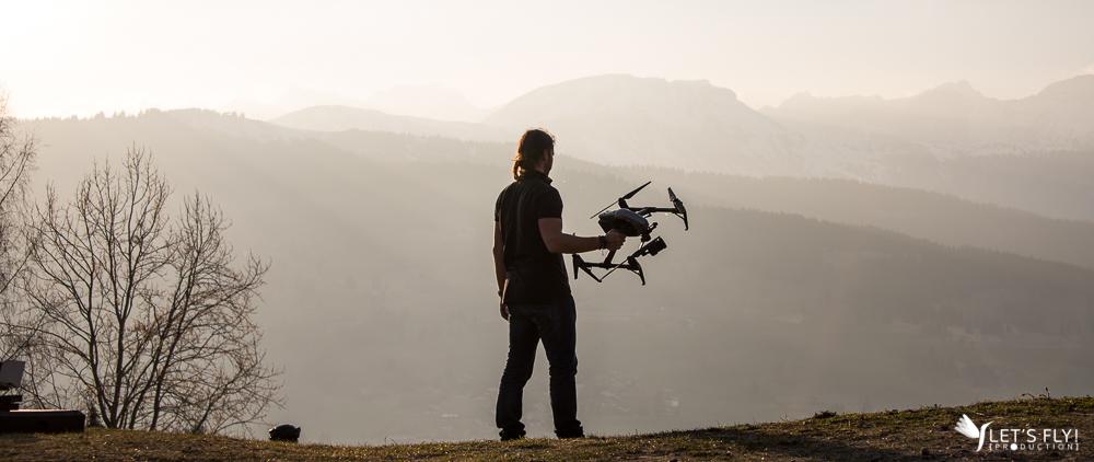 Let's Fly Production - Prestation photos & vidéos par drone