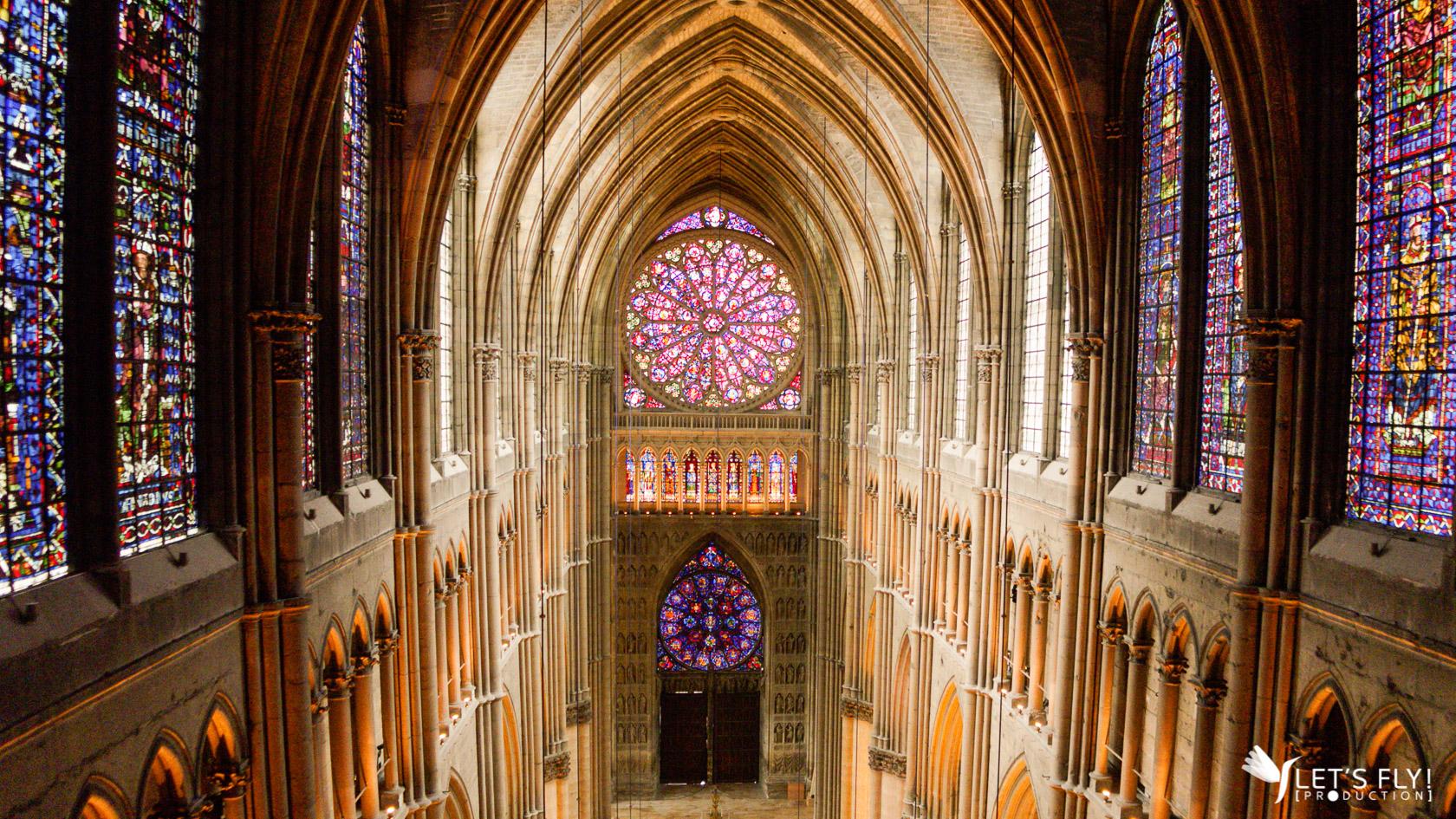 Au coeur de la cathédrale de Reims