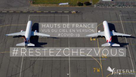 COVID19 Hauts de France confinement par drone